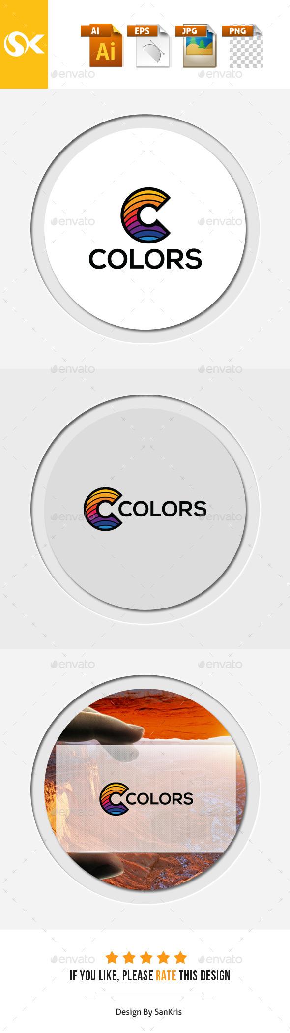GraphicRiver Color C letter Logo Template 11928208