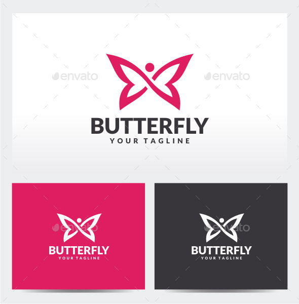 GraphicRiver Infinity Butterfly Logo Template 11928242