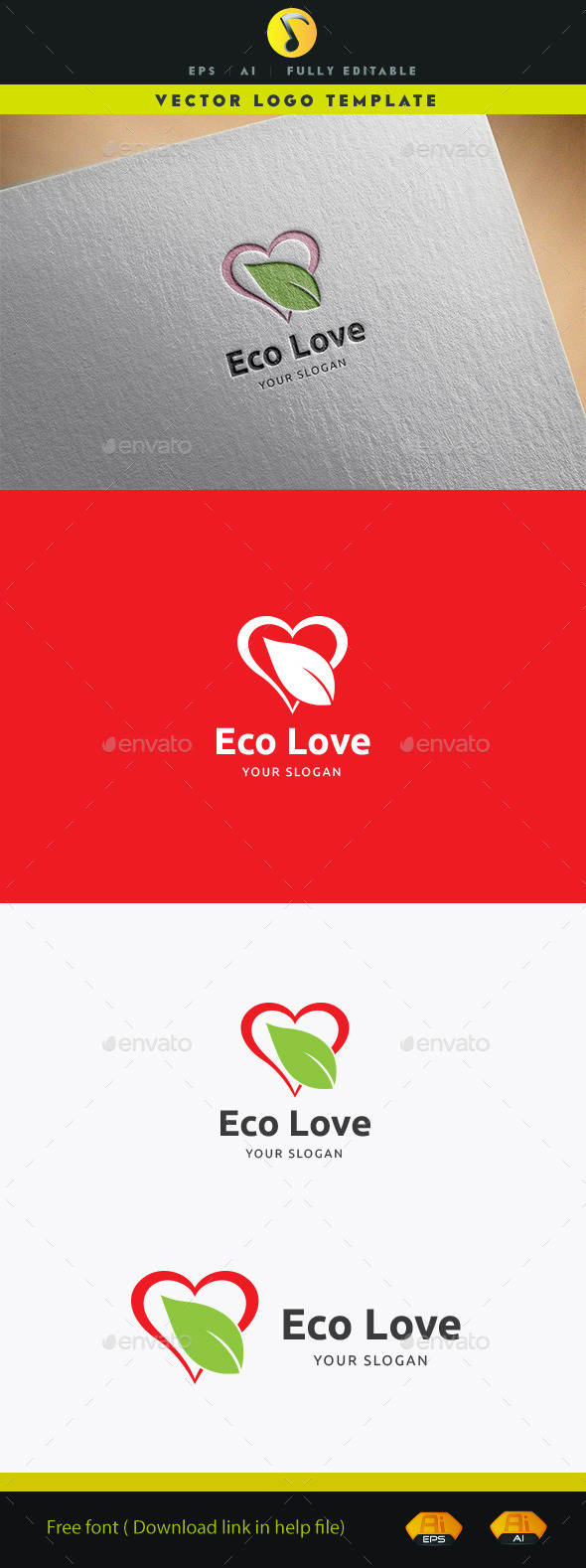 GraphicRiver Eco Love II 11928263