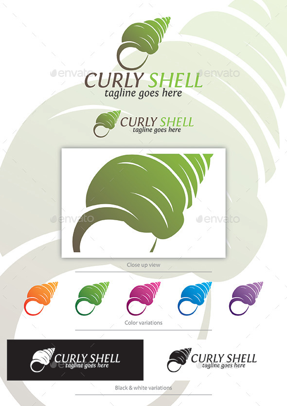 GraphicRiver Curly Shell 11928690