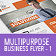 Multipurpose Business Flyer Template 1 - GraphicRiver Item for Sale