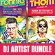 Summer Electro House Artist Bundle - GraphicRiver Item for Sale