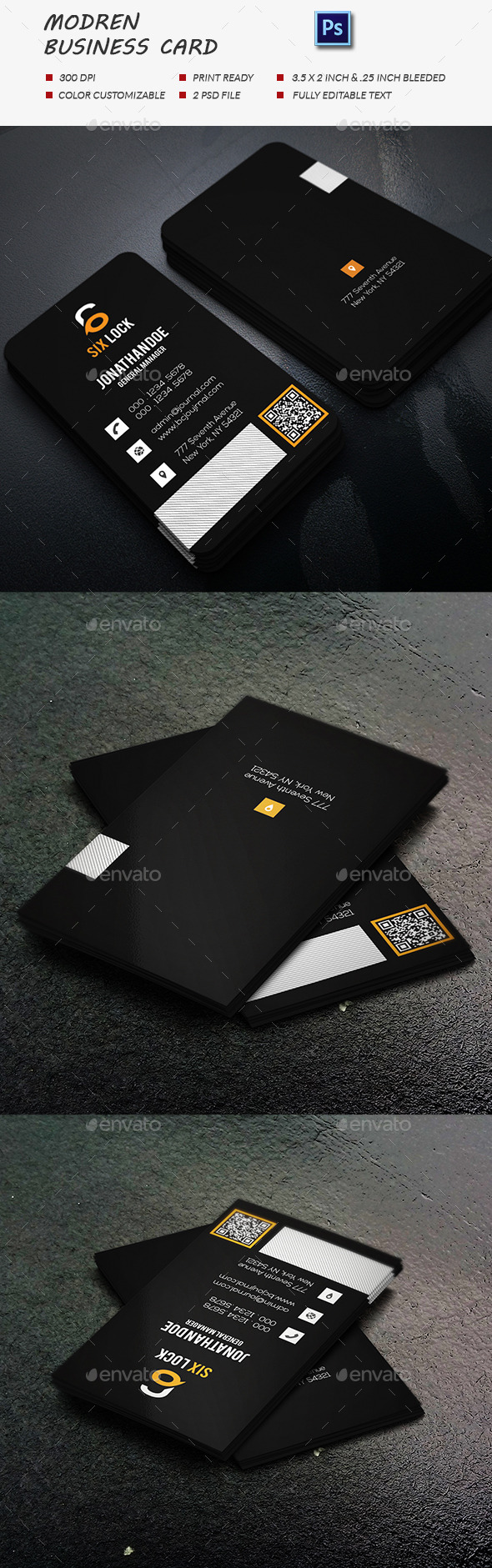 GraphicRiver Modern Business Card 11929523