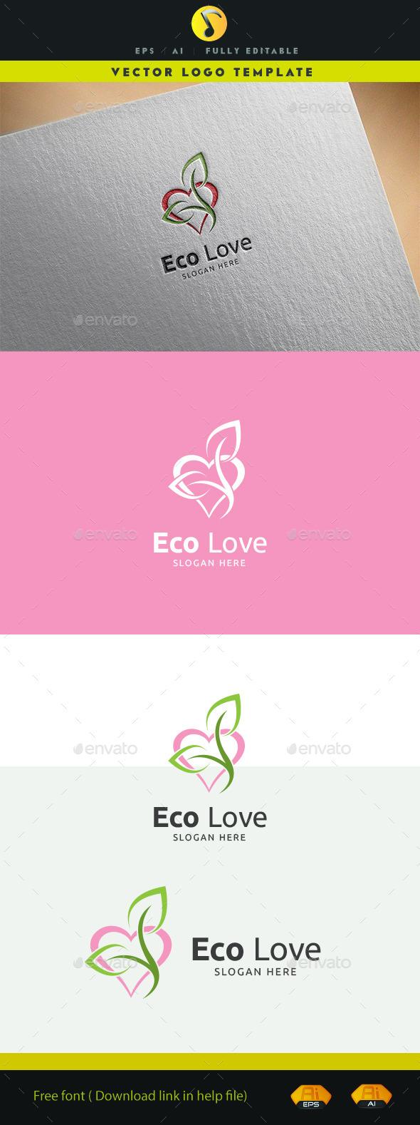 GraphicRiver Eco Love 11929536