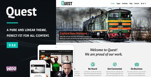 Quest - All Purpose WordPress Theme