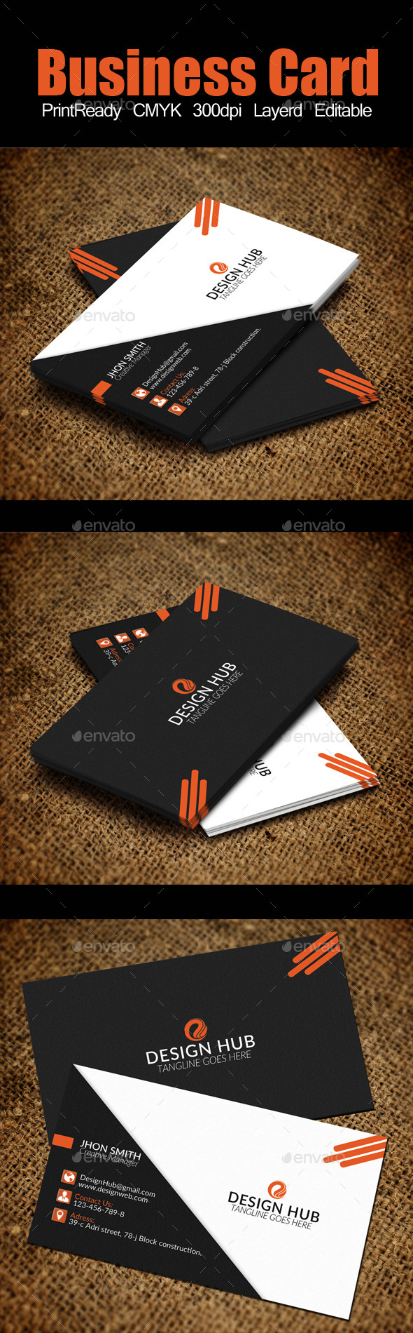 GraphicRiver Business Card Template 11929568