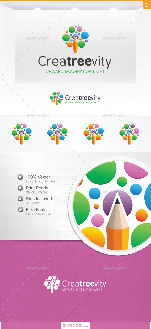 GraphicRiver Creative Tree Logo 11929569