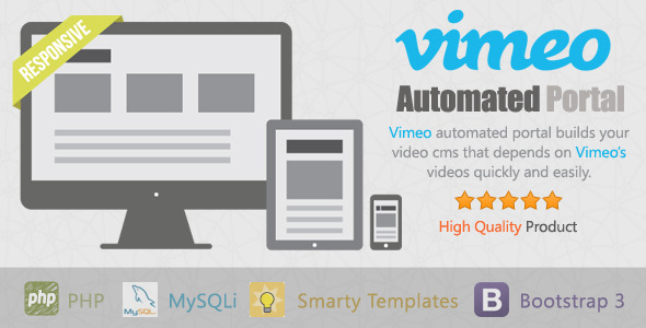 CodeCanyon Vimeo Automated Portal 11929616