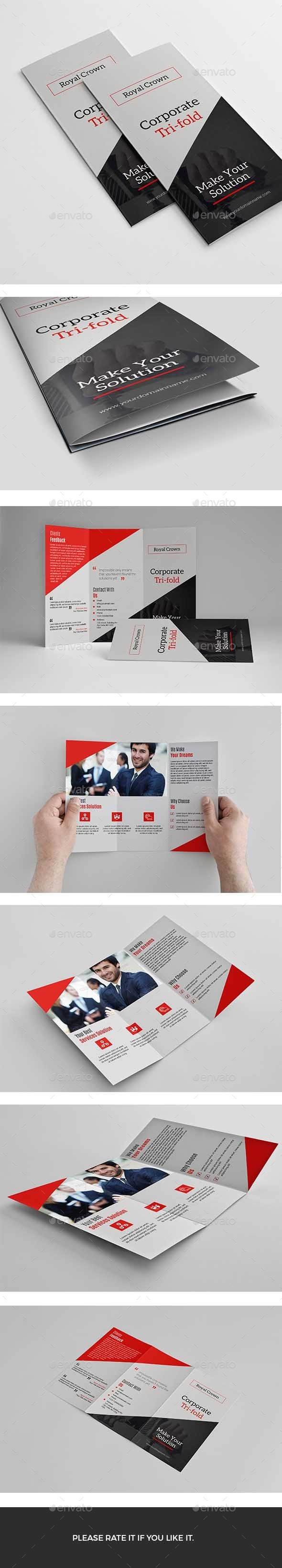 GraphicRiver Trifold 11929626