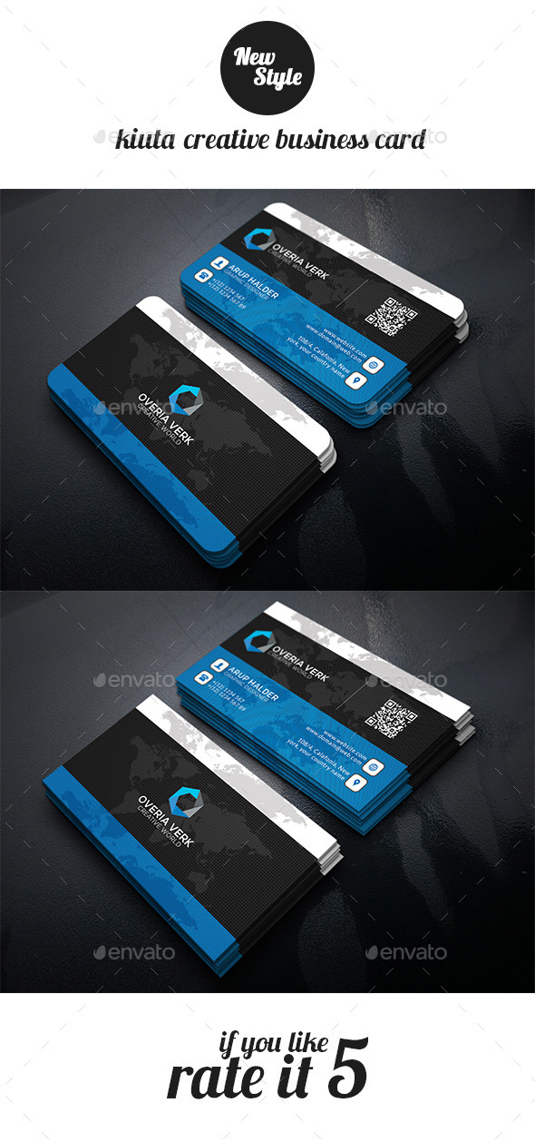 GraphicRiver Kiuta Creative Busienss Card Template 11929999