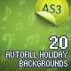 20 Autofill Holiday Backgrounds AS3 - ActiveDen Item for Sale
