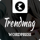 Trend Mag Magazine WordPress theme - ThemeForest Item for Sale