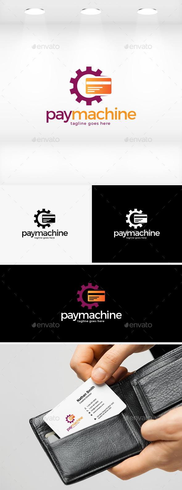 GraphicRiver Pay Machine Logo 11930859