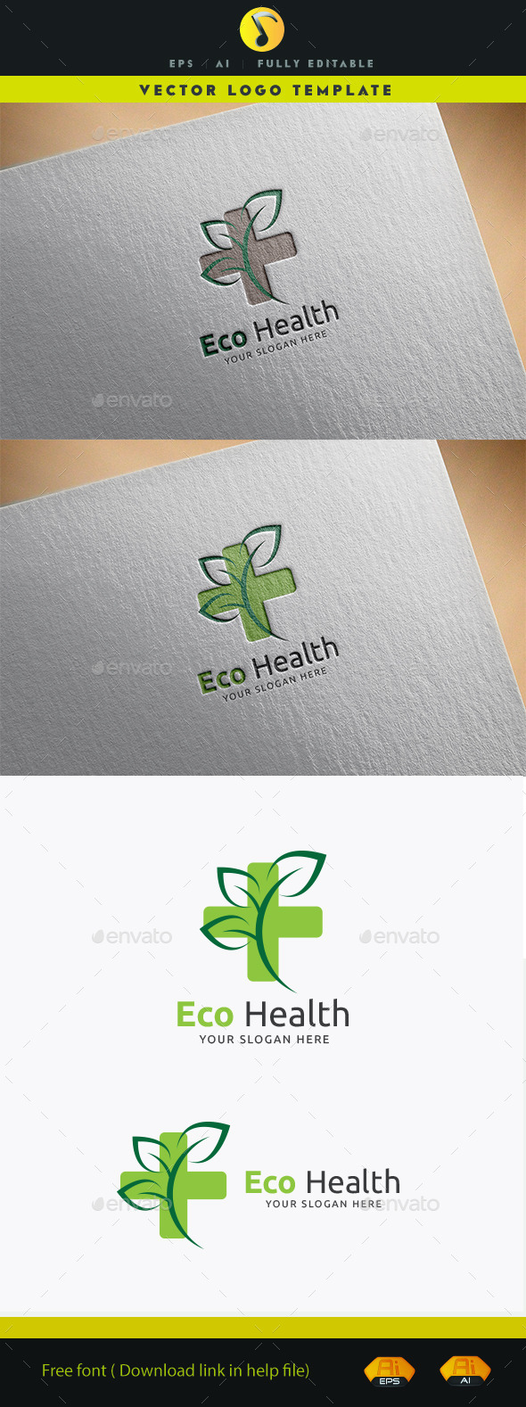 GraphicRiver Eco Health 11931893