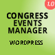 Congress and Event Manager WordPress Plugin