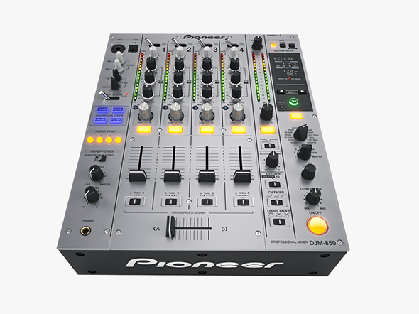 Dj Mixer Pioneer DJM850 - 3DOcean Item for Sale