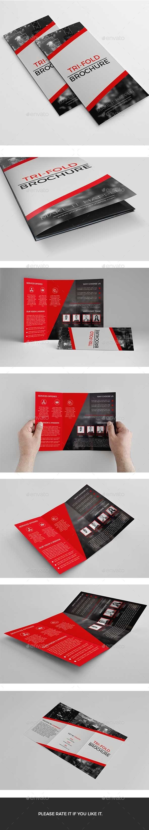 GraphicRiver Trifold 11932319