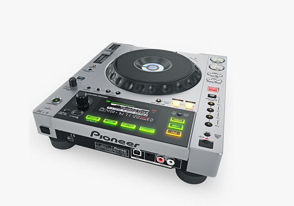 Digital player Pioneer CDJ 850 - 3DOcean Item for Sale