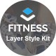 Fitness - Layers Style Kit