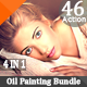 46 Old HDR Realistick Painting  Effects Bundle V.4 - GraphicRiver Item for Sale
