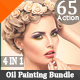 65 HDR Realistic Painting Effects Bundle V.5 - GraphicRiver Item for Sale