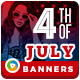 Fourth of July Sale Banners - GraphicRiver Item for Sale