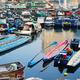 Boats in Aberdeen village, HK - PhotoDune Item for Sale