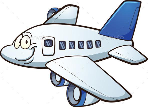 GraphicRiver Cartoon Airplane 11932965