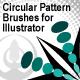Illustrator Circular Pattern Brushes