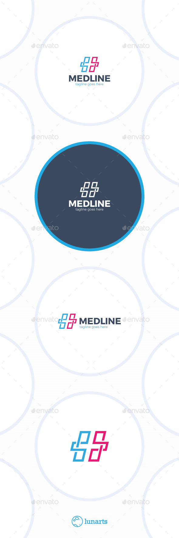 GraphicRiver Medical Line Cross Logo 11933253