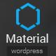 Material - Premium Magazine WordPress Theme - ThemeForest Item for Sale