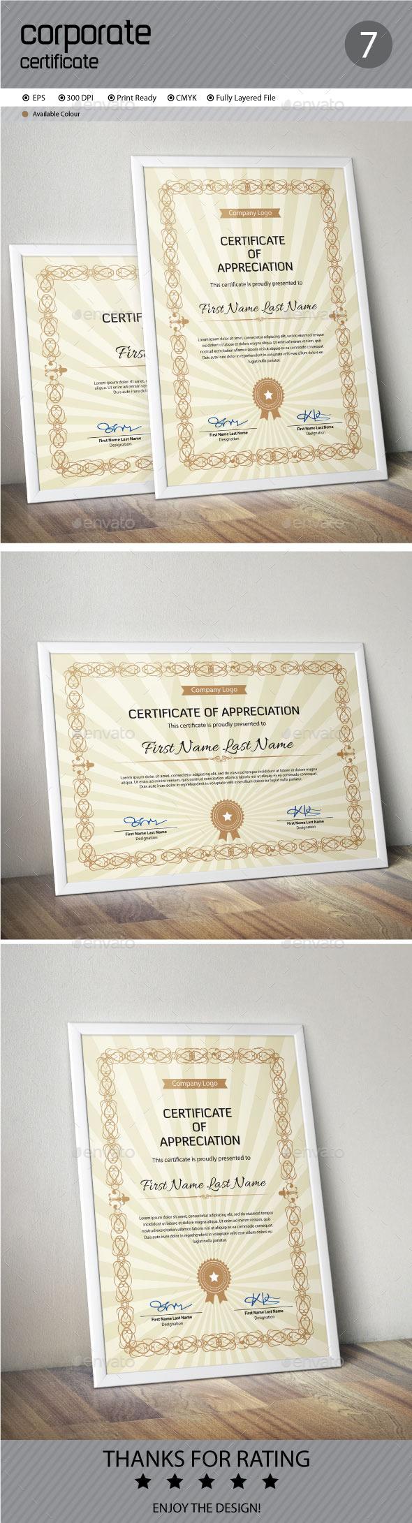GraphicRiver Certificate 11933296