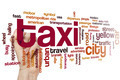 Taxi word cloud - PhotoDune Item for Sale