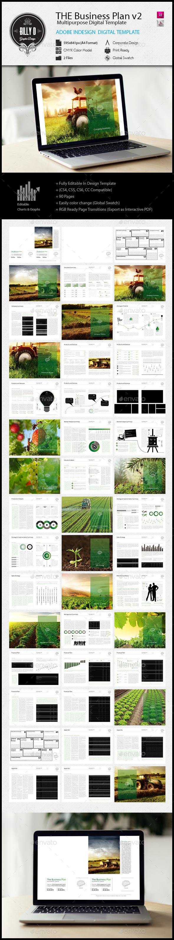 GraphicRiver THE Business Plan Multipurpose Digital Template 11933466