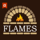 Fireplace Logo Template - GraphicRiver Item for Sale