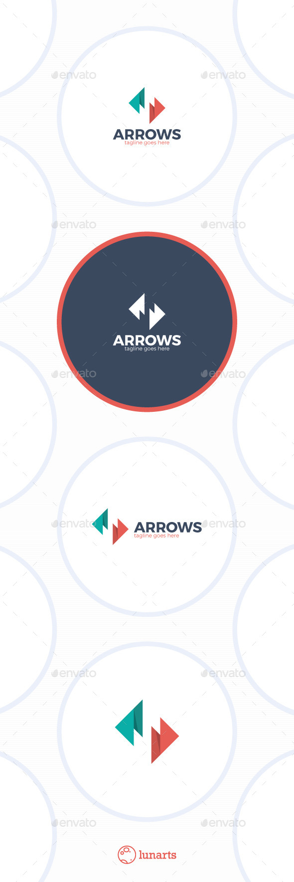 GraphicRiver Arrows Letter S Logo 11933987
