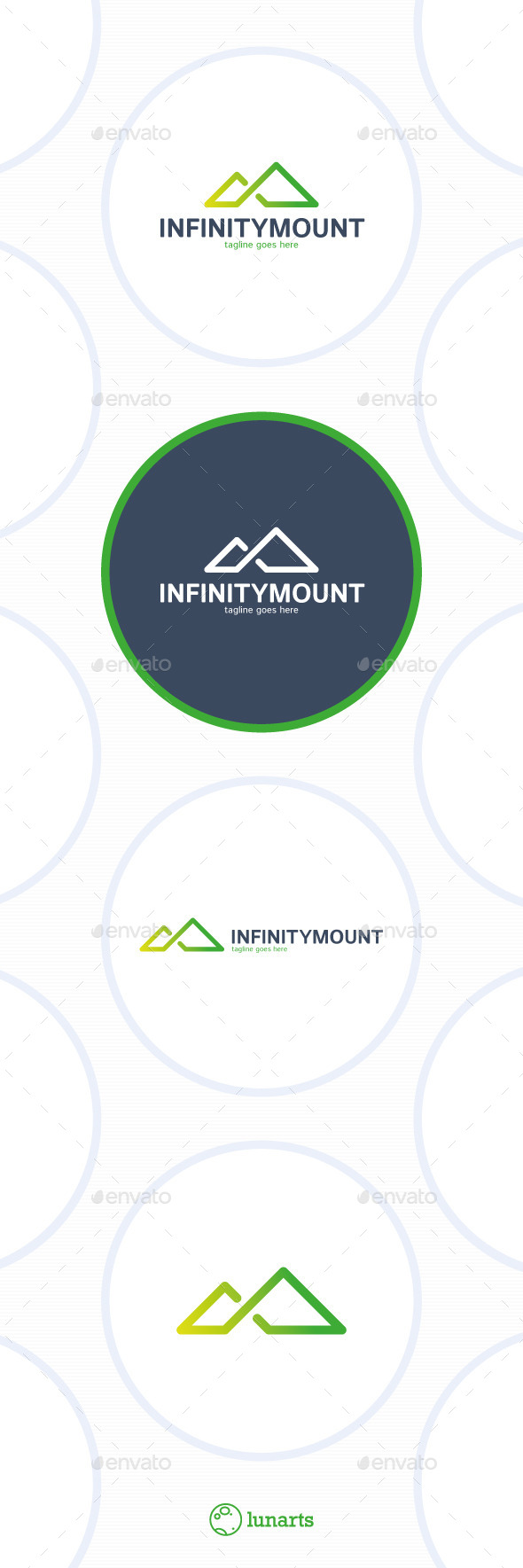 GraphicRiver Infinity Mountain Logo Triangle 11934022
