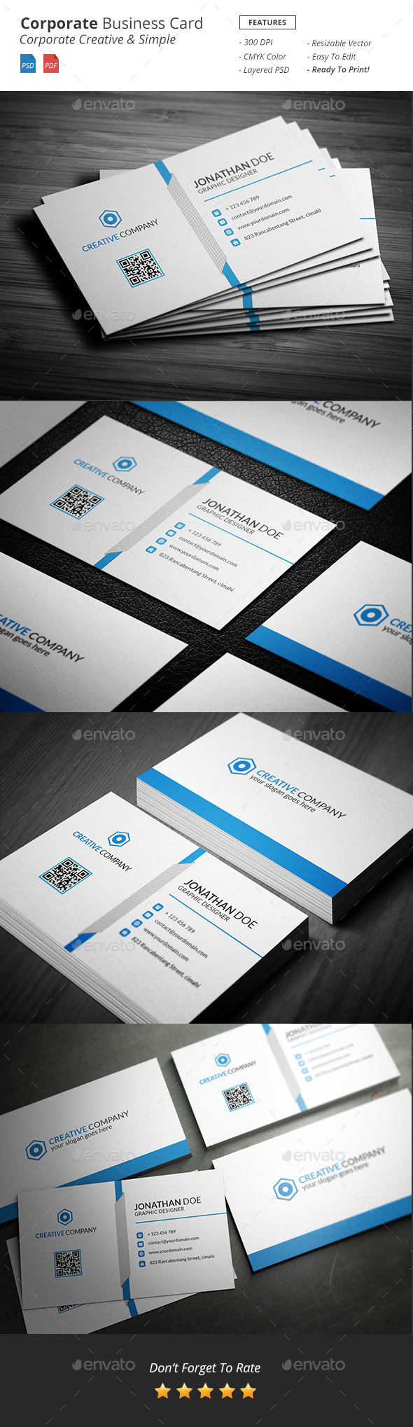 GraphicRiver Corporate Business Card 11934084