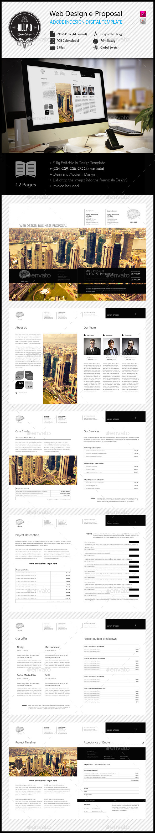 GraphicRiver Web Design e-Proposal Template 11934112
