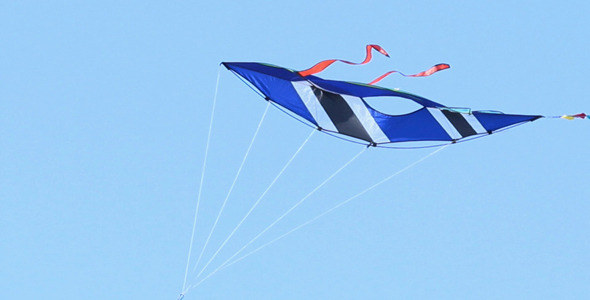 Kite With Blue Sky Background