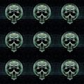 Skulls Motif Dark Decorative Seamless Pattern - PhotoDune Item for Sale
