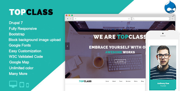 Image of TopClass - Multipurpose Business & Corporate Theme