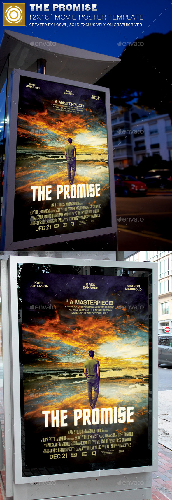 GraphicRiver The Promise Movie Poster Template 11934603