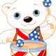 4th of July Polar Bear  - GraphicRiver Item for Sale