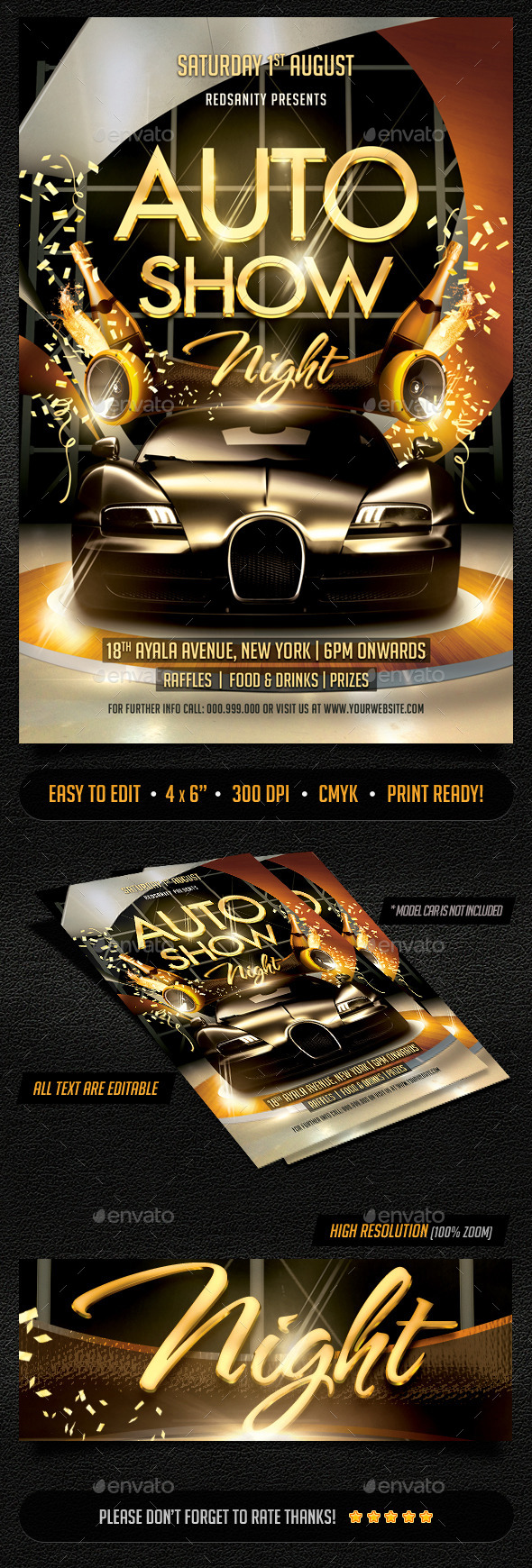 GraphicRiver Auto Show Flyer 11934753
