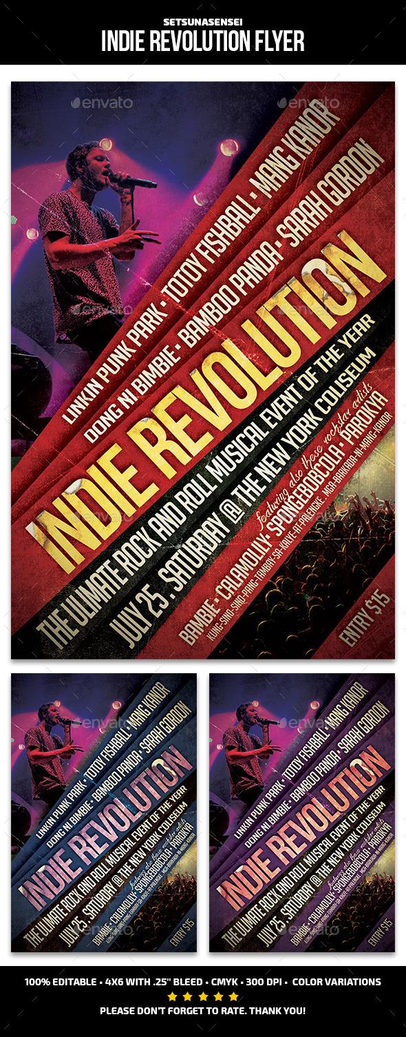 GraphicRiver Indie Revolution Flyer 11934785