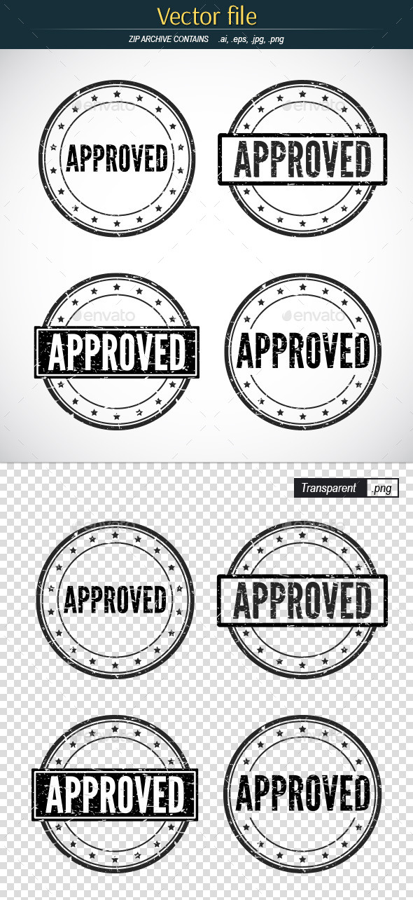 Stamp Template Graphics Designs  Templates From Graphicriver