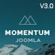 Momentum - Simple Creative OnePage Joomla Template - ThemeForest Item for Sale