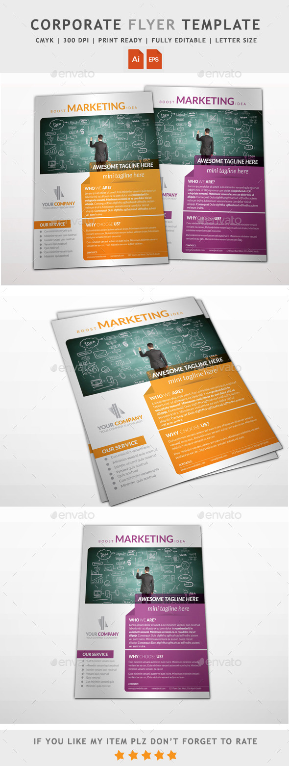 GraphicRiver Multipurpose Business Flyer 11935650
