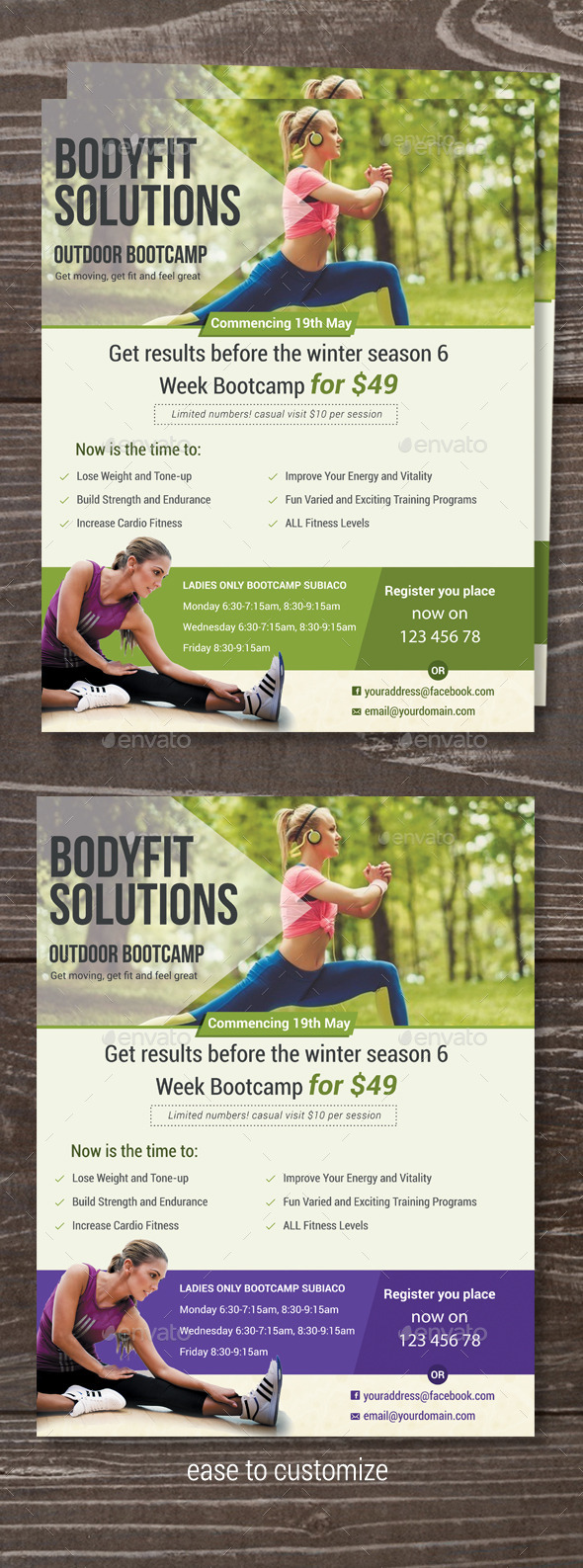 GraphicRiver Fitness Bootcamp Flyer 11935863